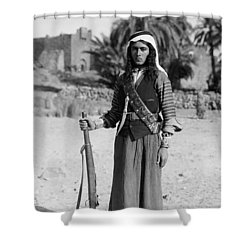 Bedouin Youth, C1926 Shower Curtain by Granger