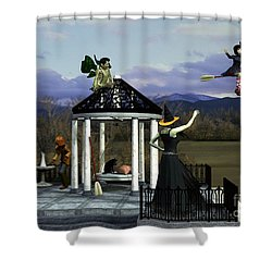 Before Dorothy Came To Oz Shower Curtain by Methune Hively