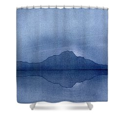 Before The Moonrise Shower Curtain by Hakon Soreide