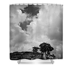 Before The Storm 2 Shower Curtain