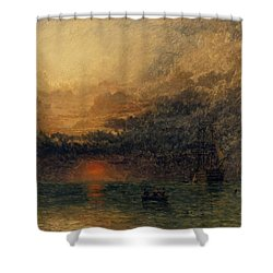 Before The Storm Shower Curtain by Henry Dawson