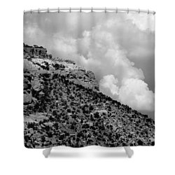 Shower Curtain featuring the photograph Before The Storm by Vicki Pelham