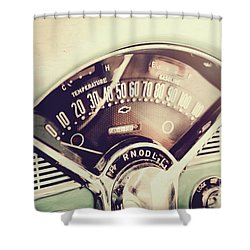 Belair Dashboard Shower Curtain
