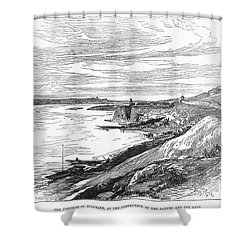 Belgrade: Fortress, 1876 Shower Curtain by Granger