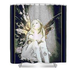Bell Fairy  Shower Curtain by Danielle  Parent