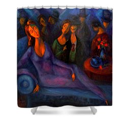 Belle Of The Ball Shower Curtain