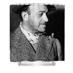Ben Hecht (1894-1964) Shower Curtain by Granger