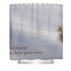Bend My Ear Shower Curtain