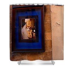 Beniiti In Lucca Shower Curtain by Bob Christopher