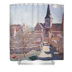 Bennecourt Shower Curtain by Claude Monet