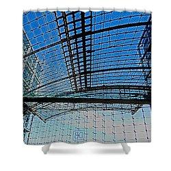 Berlin Central Station ...  Shower Curtain by Juergen Weiss