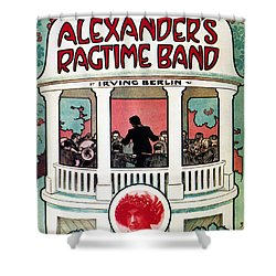 Berlin: Ragtime Band, 1911 Shower Curtain by Granger