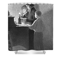 Bertrand Guillaume Carcel, French Shower Curtain by Science Source