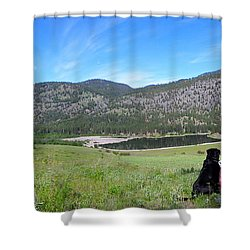 Best Friends Shower Curtain