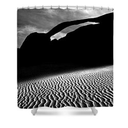 Shower Curtain featuring the photograph Best Of 2 Parks by Brian Duram