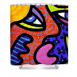 Bev's Beauty Bar Shower Curtain