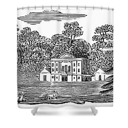 Bewick: Landscape Shower Curtain by Granger