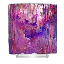 Beyond The Tears Shower Curtain by Rachel Christine Nowicki