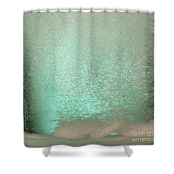Bicarbonate Of Soda Tablets Shower Curtain by Photo Researchers, Inc.