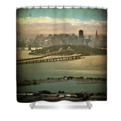 Big City Dreams Shower Curtain by Laurie Search