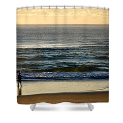 Shower Curtain featuring the photograph Big Ocean  by Eric Tressler