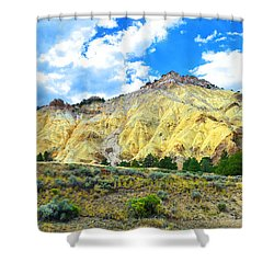 Big Rock Candy Mountain - Utah Shower Curtain