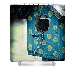 Birdhouse Memories Shower Curtain