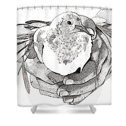 Bird Peace Shower Curtain