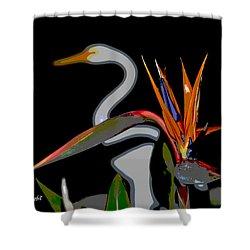 Birds In My Paradise... Shower Curtain