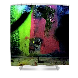 Shower Curtain featuring the photograph Black Light by Newel Hunter