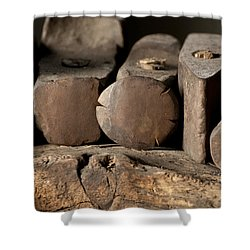 Blacksmith  Hammers Shower Curtain