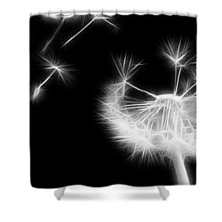 Blown Away - Sparklized Shower Curtain