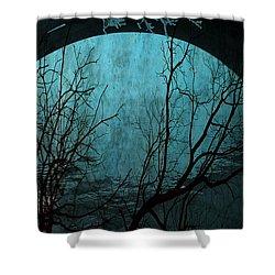 Blue Lagoon  Shower Curtain by Jerry Cordeiro