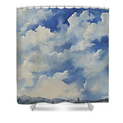 Blue Ridge Vista...sold  Shower Curtain