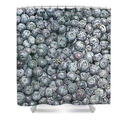 Blueberries Shower Curtain