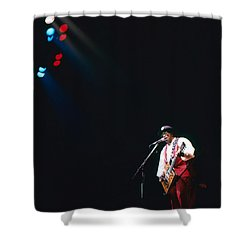 Bo Diddley On The Stage Shower Curtain