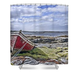 Shower Curtain featuring the photograph Boat by Hugh Smith