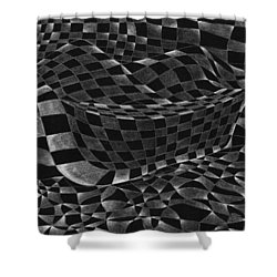 Boat Upon The Shore Shower Curtain by Hakon Soreide