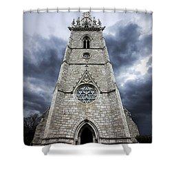 Bodelwyddan Church Shower Curtain by Meirion Matthias