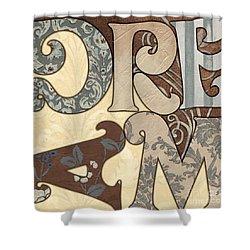 Bohemian Dream Shower Curtain by Debbie DeWitt