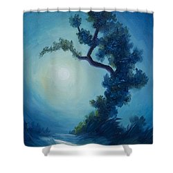Bonsai I Shower Curtain by James Christopher Hill
