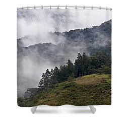 Boquete Highlands Shower Curtain by Heiko Koehrer-Wagner