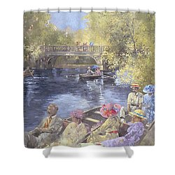 Botanic Gardens - Southport Shower Curtain by Peter Miller