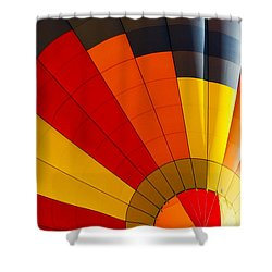 Bottom Up Shower Curtain by Colleen Coccia