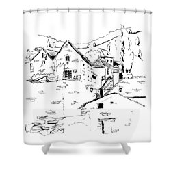 Bouges In France 01 Shower Curtain