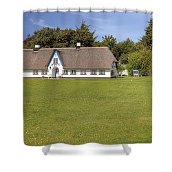 Braderup - Sylt Shower Curtain by Joana Kruse