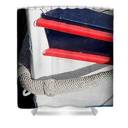 Braided Bumper Shower Curtain by Lainie Wrightson