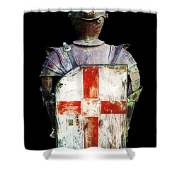 Breastplate Shower Curtain