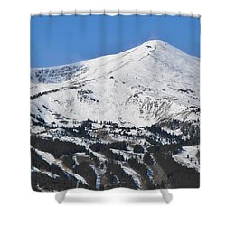 Breckenridge Peak 8 Shower Curtain by Margaret Bobb