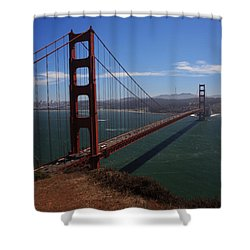 Bridge Of Dreams Shower Curtain by Laurie Search